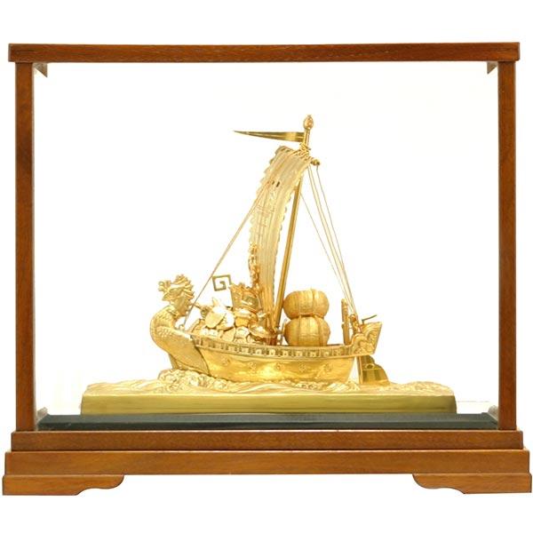 純金 置物 宝船